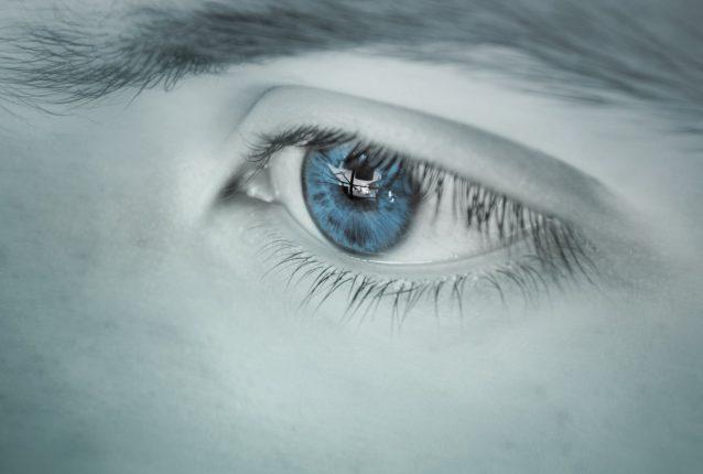 Nærbilde av et øye